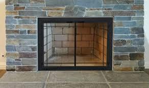 portland willamette fireplace doors side portland willamette ovation ii fireplace doors portland willamette