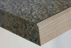 laminate countertops with wood edge flat lay solid wood edge beveled laminate countertop wood edge profiles