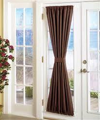 curtain for front doorGlass Front Door Sidelights  Lets See What Trendy Curtains For