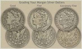 Half Dollar Worth Chart Morgan Silver Dollar Grading Investments Silver Dollar