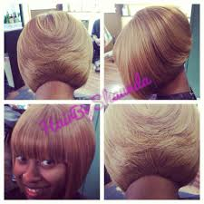 Short Weave Hair Style short hair cut for black women quick weave bob blonde hair 6027 by wearticles.com