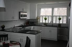 black granite countertops a daring touch of sophistication to your kitchen