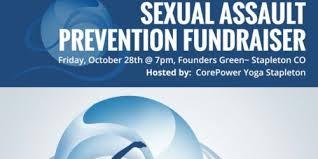 corepower yoga stapleton x the blue bench fundraiser