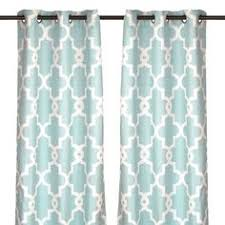 Teal Patterned Curtains Fascinating 48 Shades Of Aqua Home Decor Window Treatments Pinterest 48