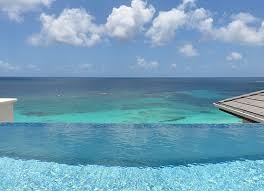 infinity pool beach house. Stunning Penthouse Suite View From Zemi Beach House Infinity Pool