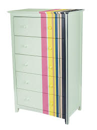 multi colored painted furniture. How-To: Multi-Striped Dresser Multi Colored Painted Furniture B