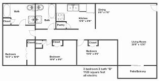 Marvelous 2 Bedroom House Plans In 1000 Sq Ft Elegant 1000 Sq Ft House Plans 3 Bedroom  Modern Square Feet 2 Bath Under