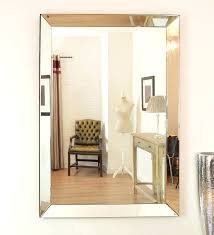 wall mirrors angel large frameless wall mirror extra large throughout proportions 1546 x 1700