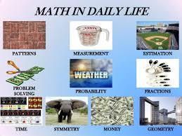 math in daily life math in daily life<br >patterns<br >estimation<br