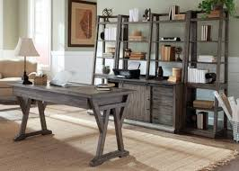wooden office. Distressed Desk Furniture Liberty Stone Brook Piece With Wood Finish Home Office Speedlabs Info White Writing Cubicle Chairs Buy Units Leather Wooden Black
