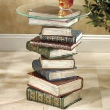 book coffee table furniture. Stacked Book End Table Coffee Furniture E