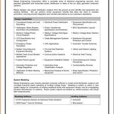 Electrical Engineer Resume Template Unique Best Resume Format For ...
