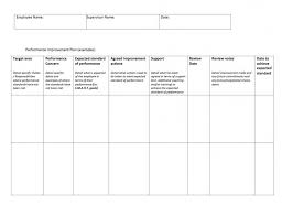 Coaching Plan Template Adorable Download 48 Performance Improvement Plan Templates Examples Top