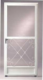 aluminum screen door. Reliabilt White Aluminum Screen Door B