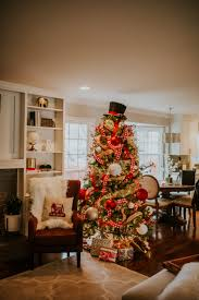 Living Room Decorations For Christmas Family Room Decor Reveal With Overstock A Southern Drawl
