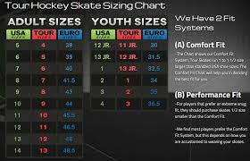 Hockey Skate Conversion Chart Tour Roller Hockey Skate Size Chart Jpg