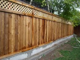 Nice Wood Fence Designs Modern Wood Fence Designs Icmt Set