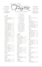 Seating Chart For Wedding Reception Alphabetical Wedding Seating Chart Template Wedding Reception
