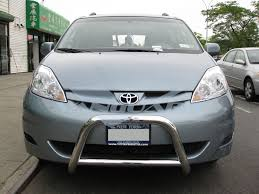 04 - 10 TOYOTA SIENNA FRONT BULL BAR BUMPER GRILL PROTECTOR GUARD ...