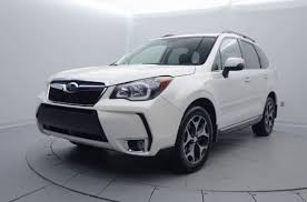 subaru forester 2015 white. 2015 subaru forester gasoline 4 door with leather seats white