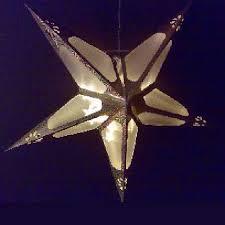 Weihnachtsstern 60cm 10er Led Hologramm Effekt Gold Innen
