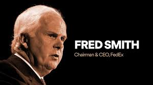 Image result for statement from frederick W. Smith, ceo of FedEx