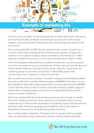 Employee Bio Template Business Biography Template Moreover Self Autobiography Sample