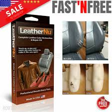 details about leathernu complete leather color restoration repair kit touch up re dye new