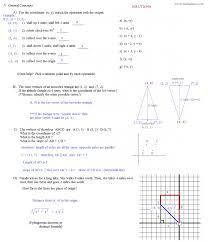 Math Plane Matrix Iii Coordinate Geometry Worksheets Translation ...