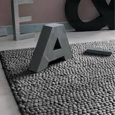 maisons du monde wollteppich industrial 160 x