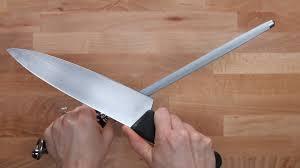 Sharpen Knives  Kitchen Knife SteelHow To Sharpen Kitchen Knives