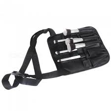two arrays makeup brush a with artist belt strap pvc make up brush bag holder professional