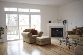 corner fireplace in a corner