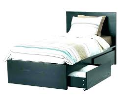 Twin Bed Frame With Drawers Twin Bed Frame Wood With Drawers Twin Xl ...
