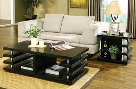 Living Room Table Decorating Upgrade Your Living Room With Lovely Coffee And Side Tables