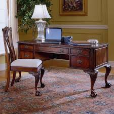 Hooker Furniture 434 Ball And Claw Writing Desk Wayside