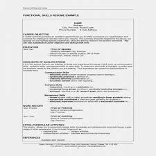 Examples Of Extracurricular Activities For Resume Weraz