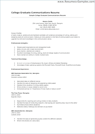 Graduate School Resume Objective Resume Layout Com
