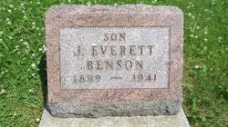 John Everett Benson (1899-1941) - Find A Grave Memorial