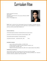 Curriculum Vitae Xls Resume Template