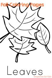 You can easily print or download them at your convenience. Fall Coloring Pages Simple Fun For Kids