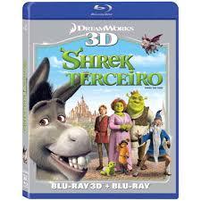 Blu-Ray 3D + Blu-Ray - Shrek Terceiro - Shrek The Third - Compre no  ShopFácil.com
