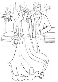 Coloring Pages Barbie Fashion Fairytale Coloring Pro