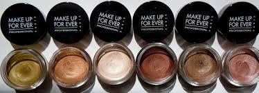 make up for ever aqua creams review swatches