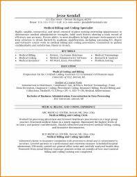 Medical Billing And Coding Resume Sample Sample Resume for Medical Billing with No Experience with Medical 30