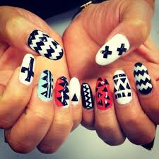 Nails Pictures Photos Images And Pics For Facebook Black And