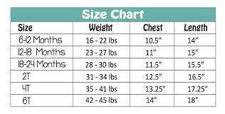 3 Year Old Clothing Size Chart What Size Is A 3 Year Old Avalonit Net