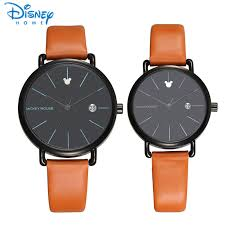 online get cheap mens disney watch aliexpress com alibaba group disney women watches 2017 brand luxury quartz watch man mickey mouse fashion casual couple watches for lovers mens women ladies