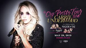 Carrie Underwood May 28 2019 Rogers Place