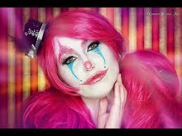 cute glitter clown make up tutorial